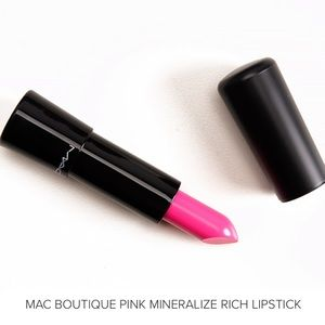 NWT MAC Cosmetics Boutique Pink Mineralize Rich Li